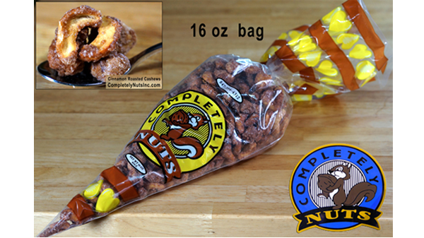 Completely Nuts Inc, Navy Pier Nuts, 847-394-4312, Cinnamon Sugar Roasted Nuts, German Bavarian Style Cinnamon Roasted Mixed Nuts, Cinnamon Sugar Roasted Almonds, Pecans, Peanuts & Cashews,