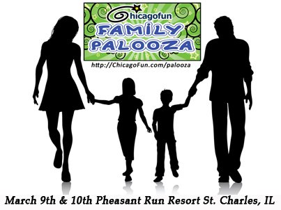 PR Release Chicago Fun Family Palooza!