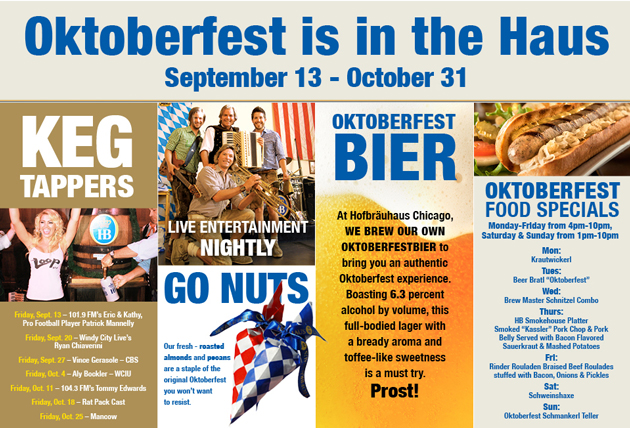 Completely nuts Inc at at Hofbrauhaus Chicago