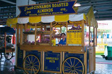 Completely Nuts - Inside Cart at Navy Pier